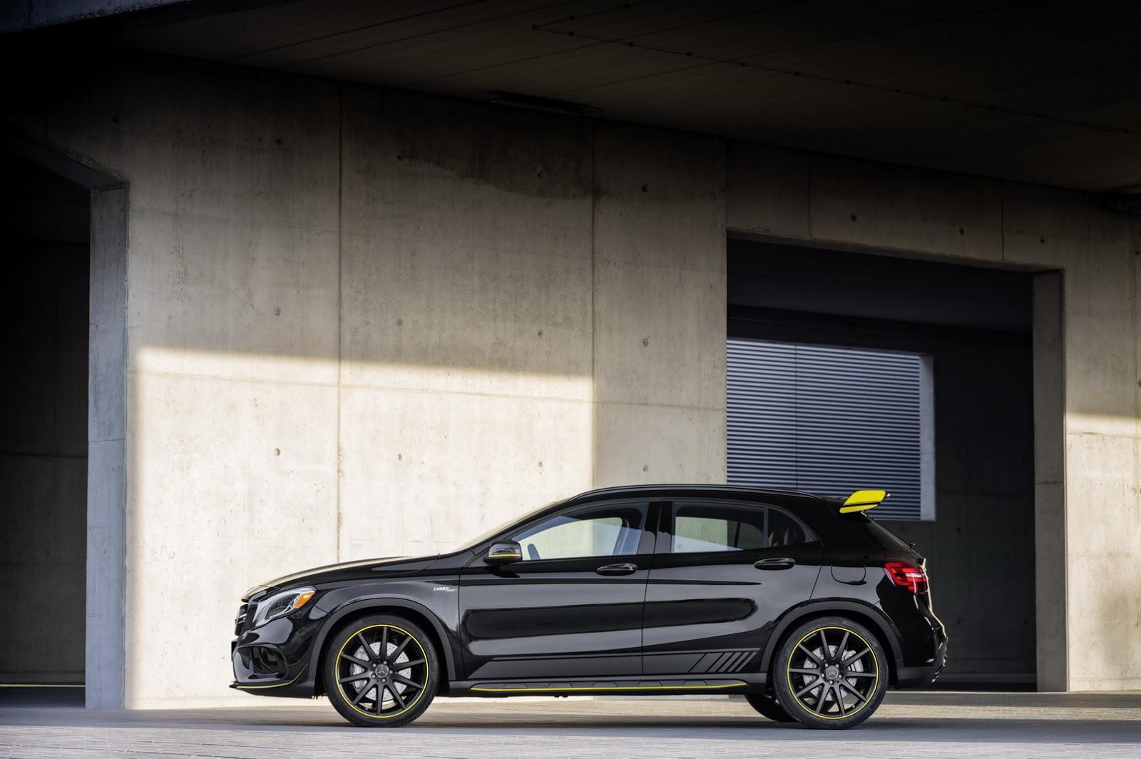 Mercedes GLA facelift and GLA 45 AMG facelift 2017 (67)