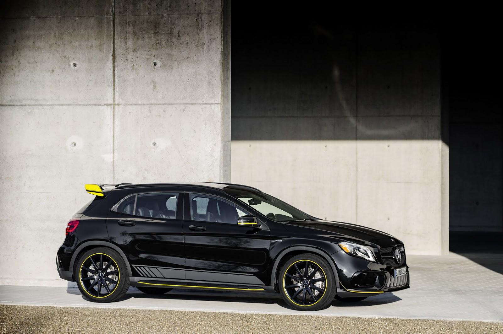 Mercedes GLA facelift and GLA 45 AMG facelift 2017 (69)