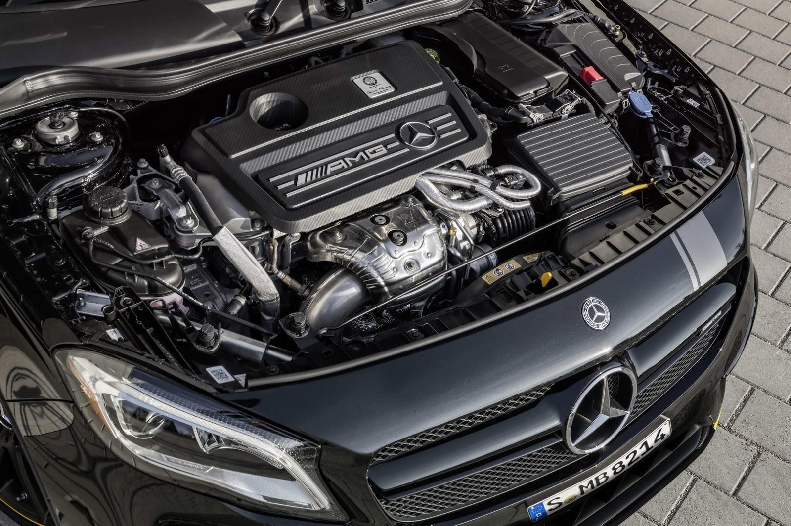 Mercedes GLA facelift and GLA 45 AMG facelift 2017 (70)