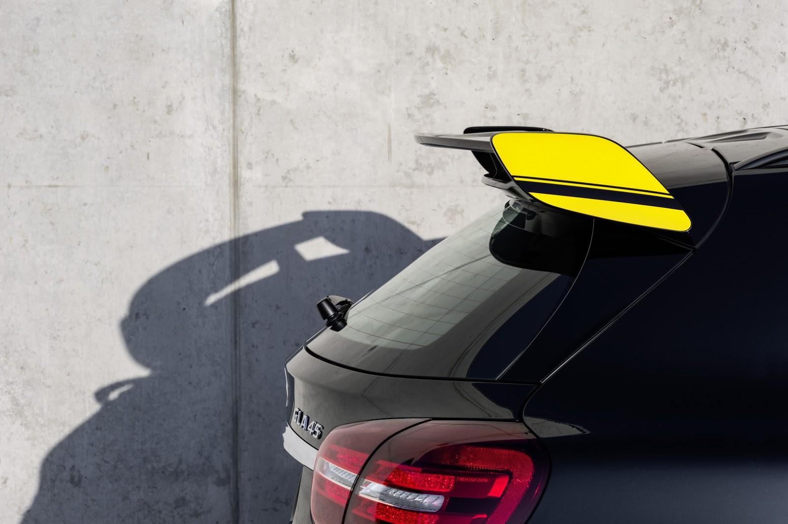 Mercedes GLA facelift and GLA 45 AMG facelift 2017 (71)