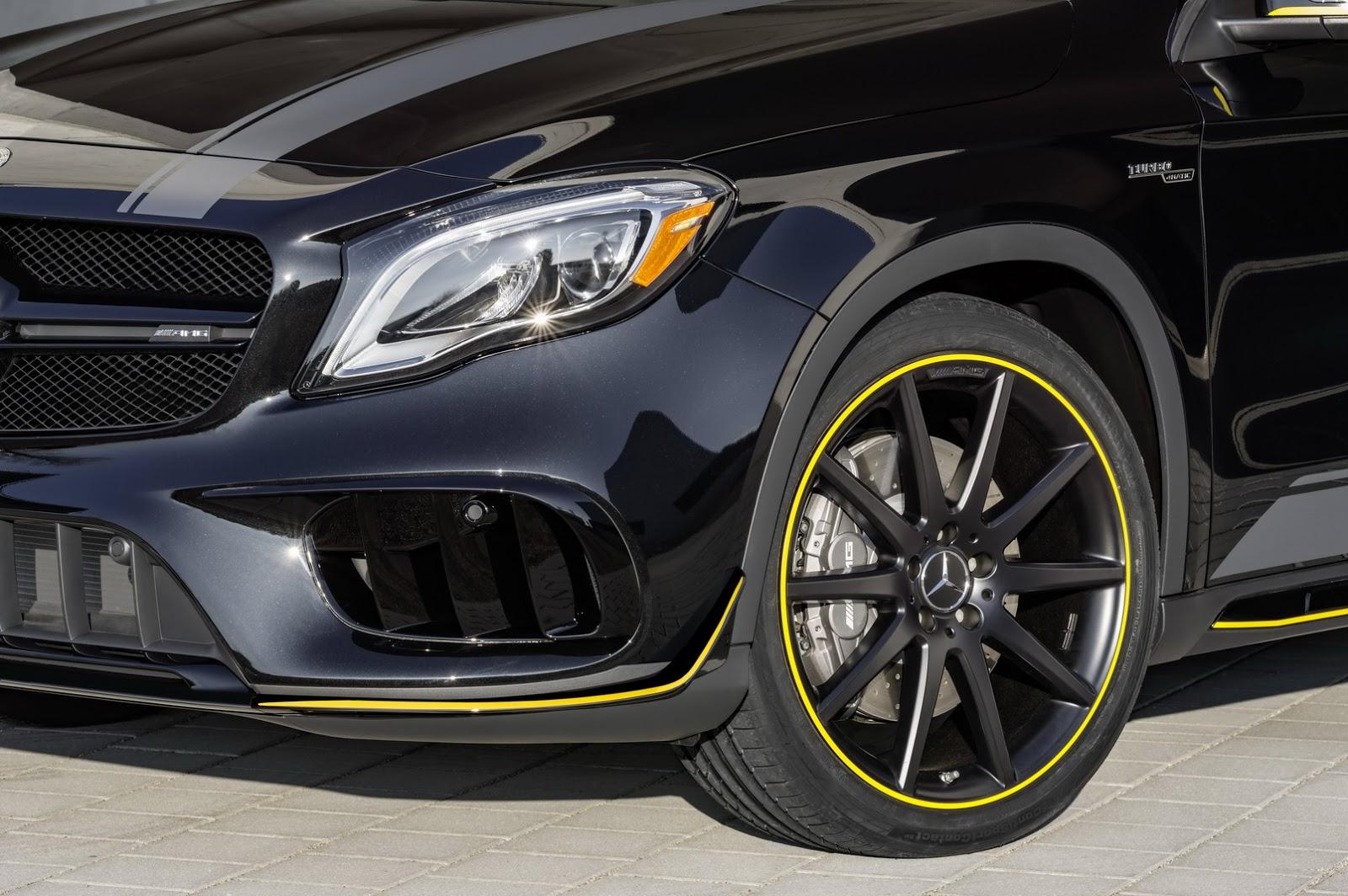 Mercedes GLA facelift and GLA 45 AMG facelift 2017 (72)
