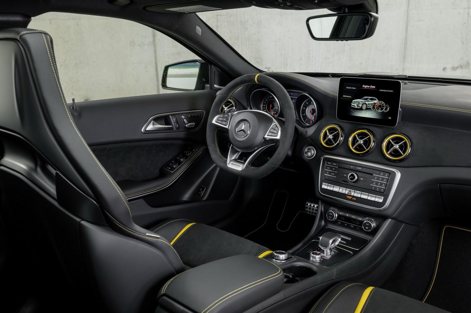 Mercedes GLA facelift and GLA 45 AMG facelift 2017 (76)
