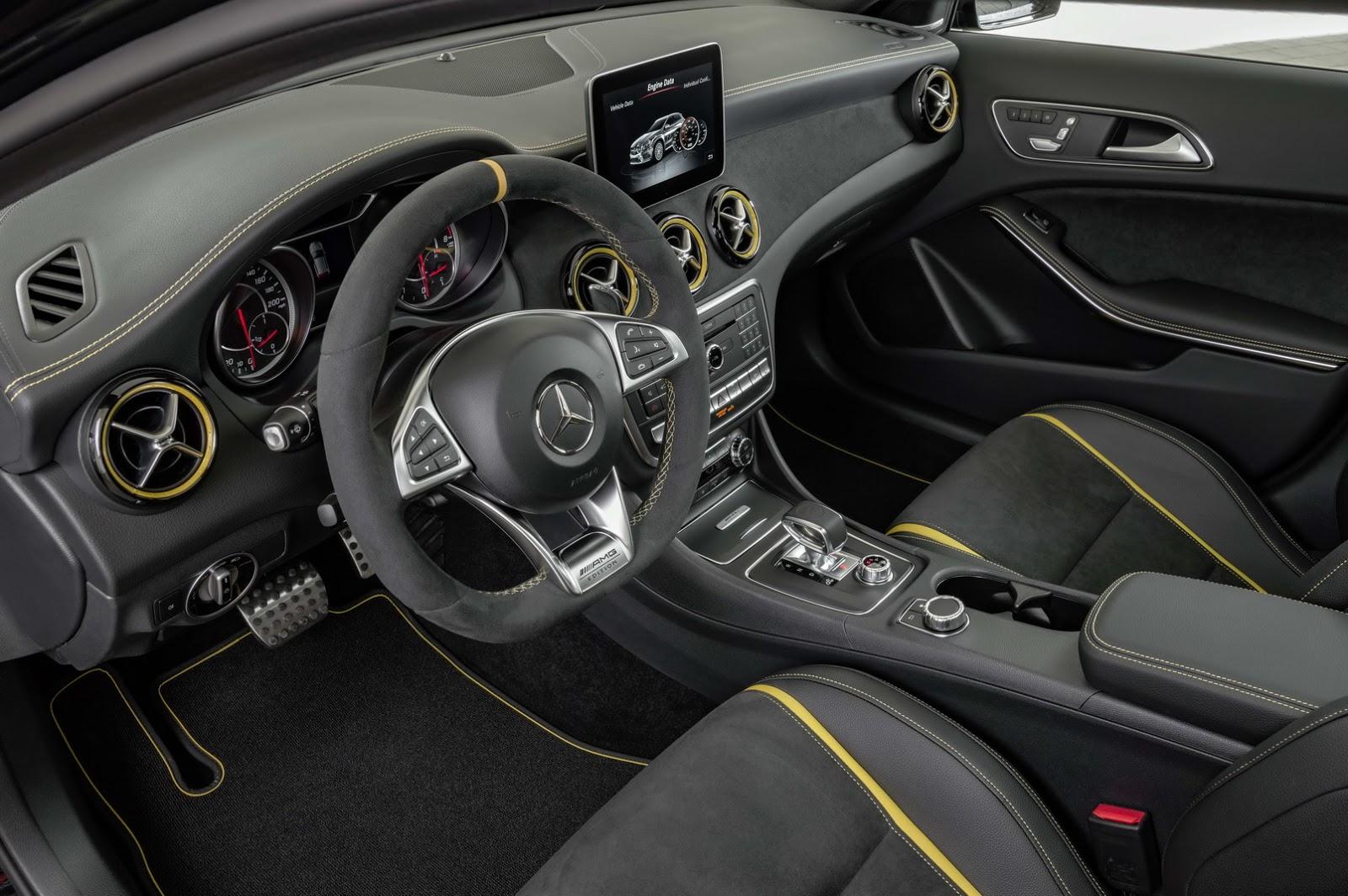 Mercedes GLA facelift and GLA 45 AMG facelift 2017 (77)