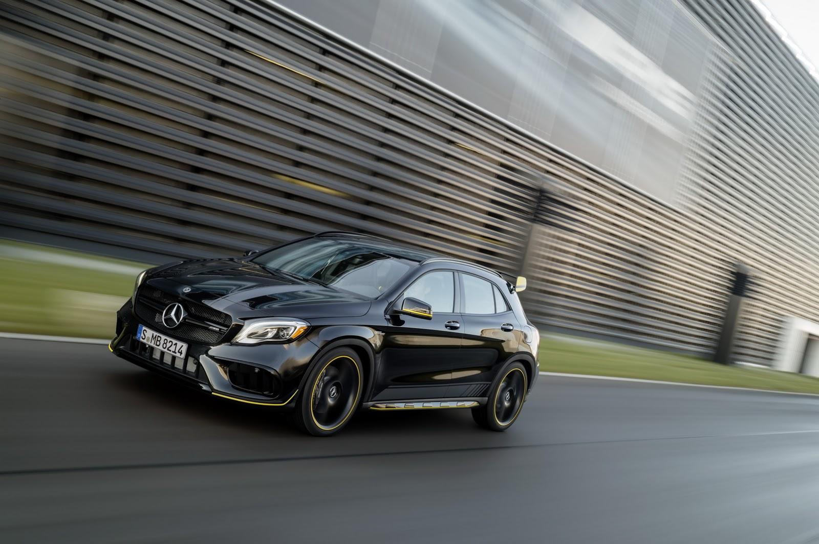 Mercedes GLA facelift and GLA 45 AMG facelift 2017 (80)
