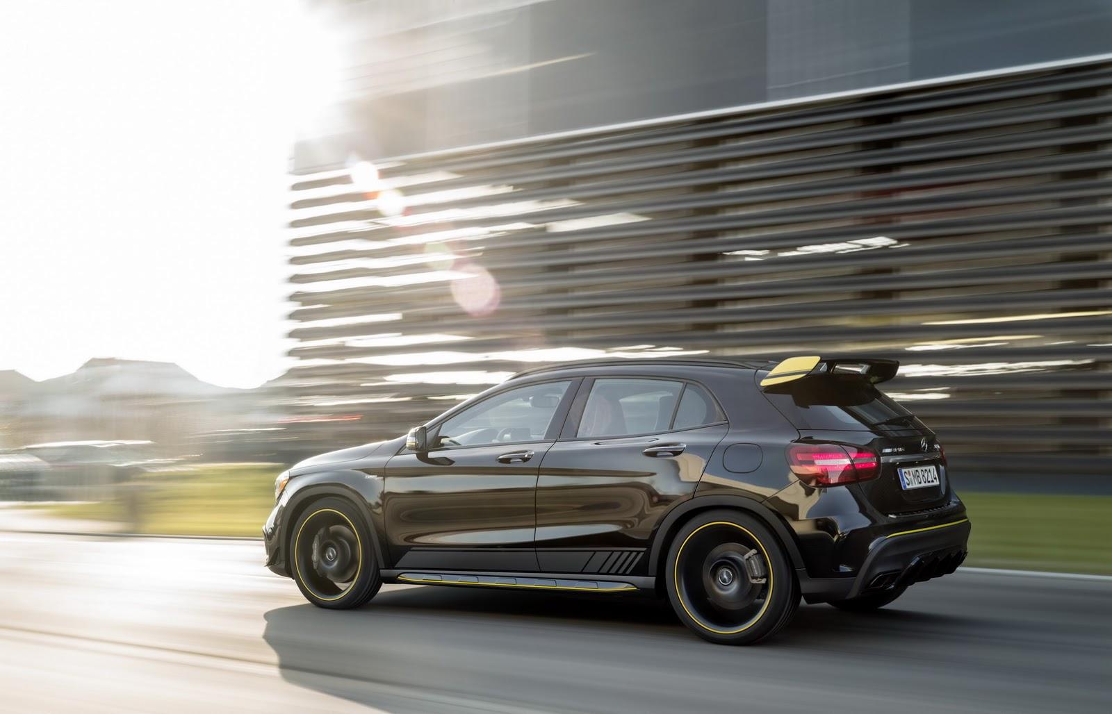 Mercedes GLA facelift and GLA 45 AMG facelift 2017 (82)