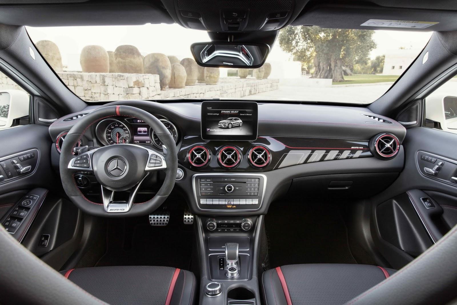 Mercedes GLA facelift and GLA 45 AMG facelift 2017 (85)
