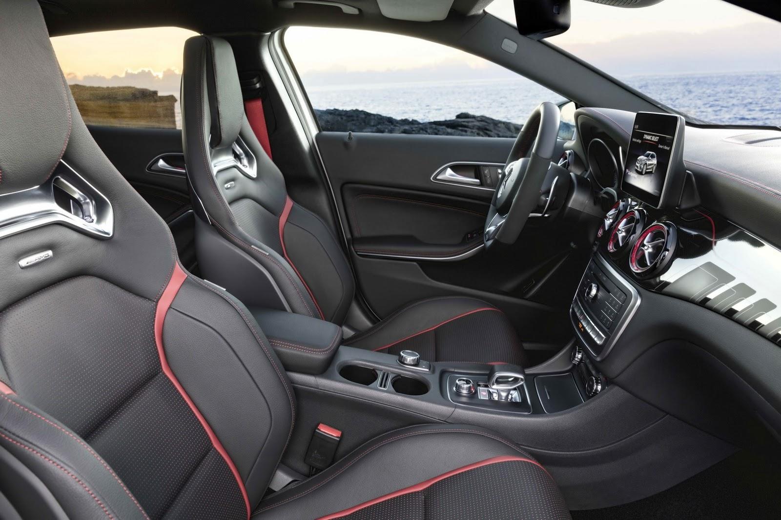 Mercedes GLA facelift and GLA 45 AMG facelift 2017 (86)