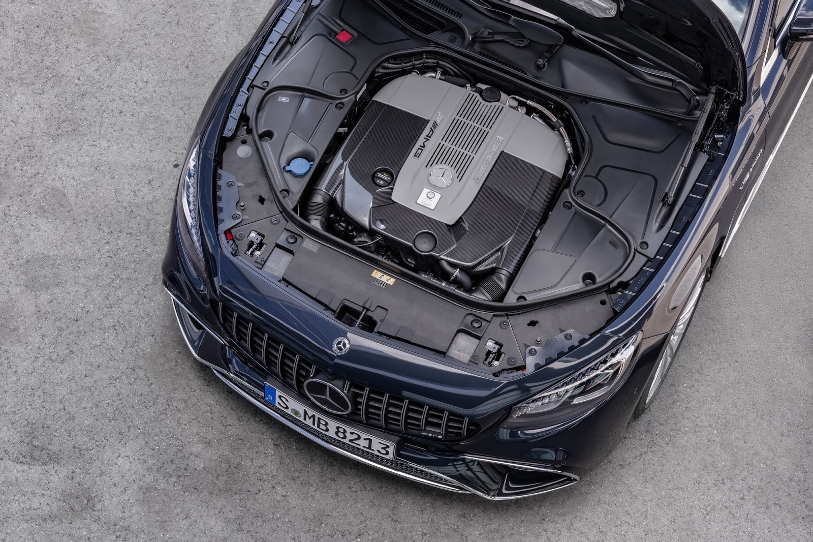 Mercedes-AMG S 65 Coupé, 2017. Exterieur: anthrazitblau metallic, Motor;Kraftstoffverbrauch kombiniert: 11,9 l/100 km; CO2-Emissionen kombiniert: 279 g/km*