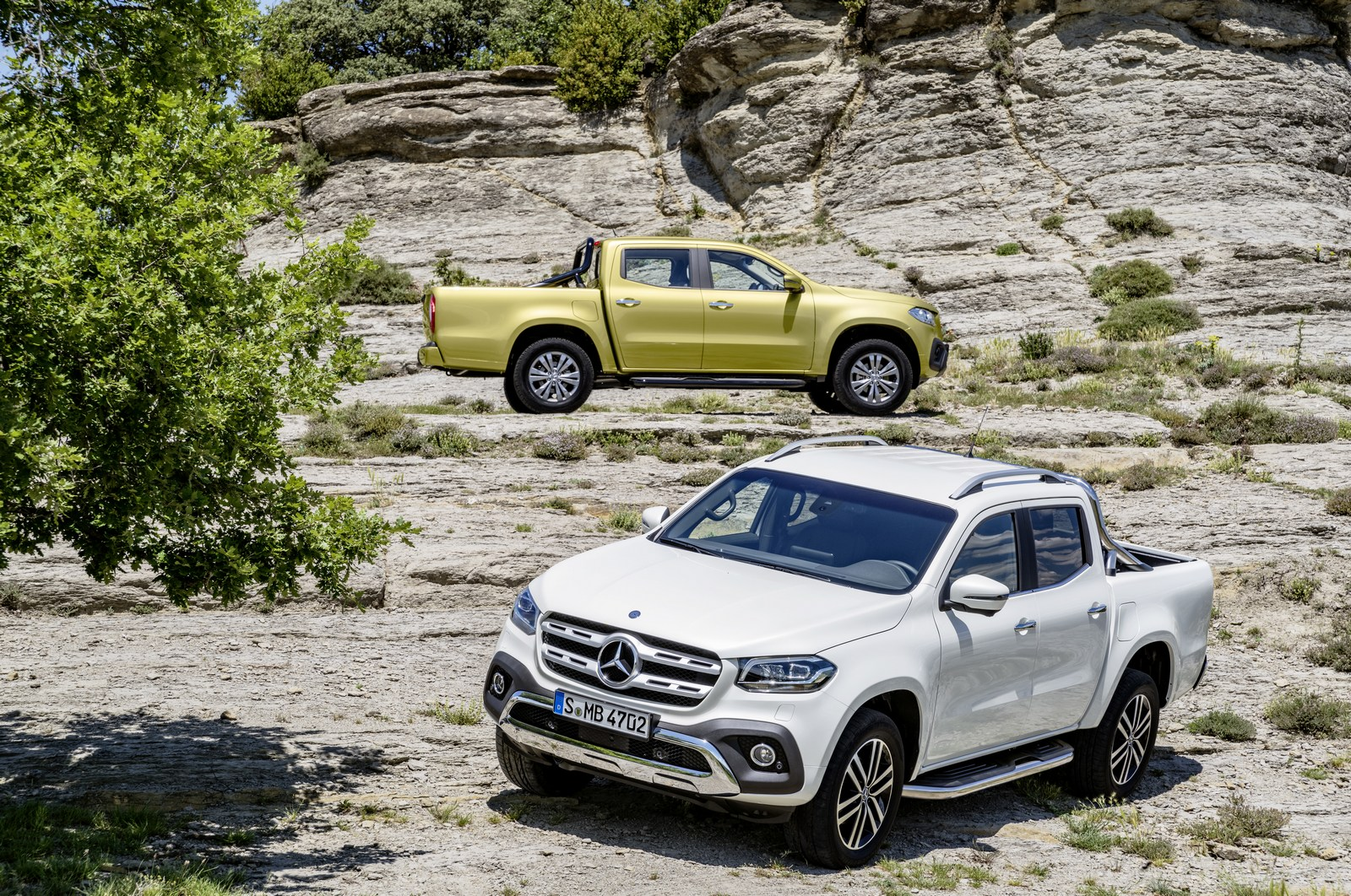 Mercedes-Benz X-Klasse – Ausstattungslinien POWER und PROGRESSIVE   Mercedes-Benz X-Class – Design and equipment lines POWER and PROGRESSIVE