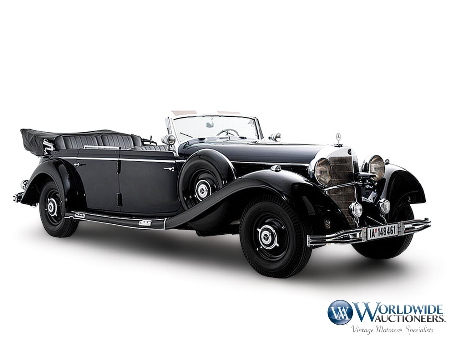 Mercedes-Benz 770K Grosser Open Tourer Adolf Hitler (1)