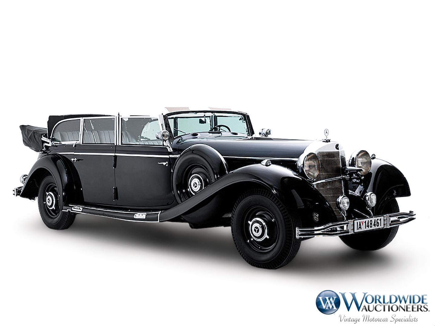 Mercedes-Benz 770K Grosser Open Tourer Adolf Hitler (120)