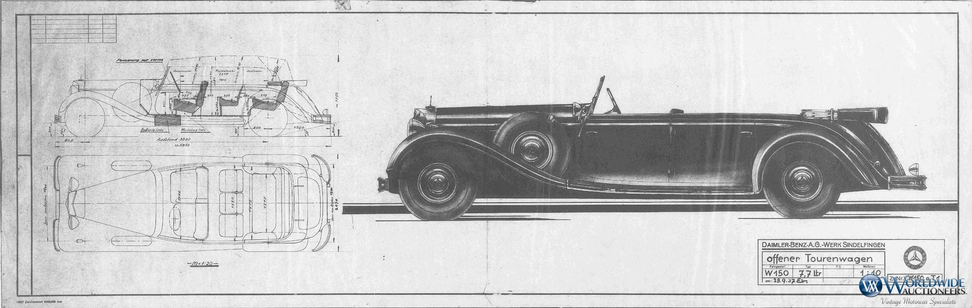 Mercedes-Benz 770K Grosser Open Tourer Adolf Hitler (35)
