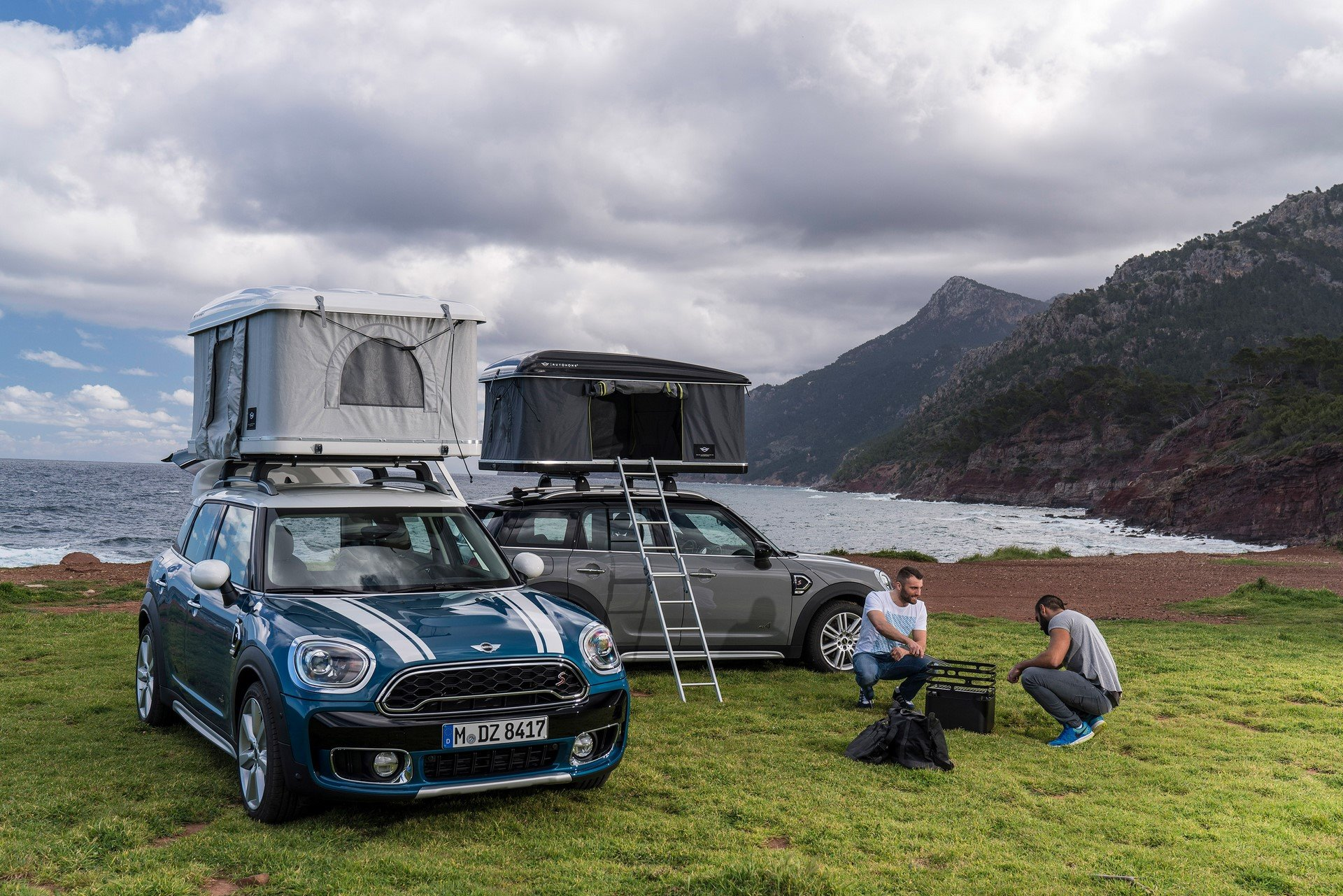 Mini Countryman Roof Tent (1)