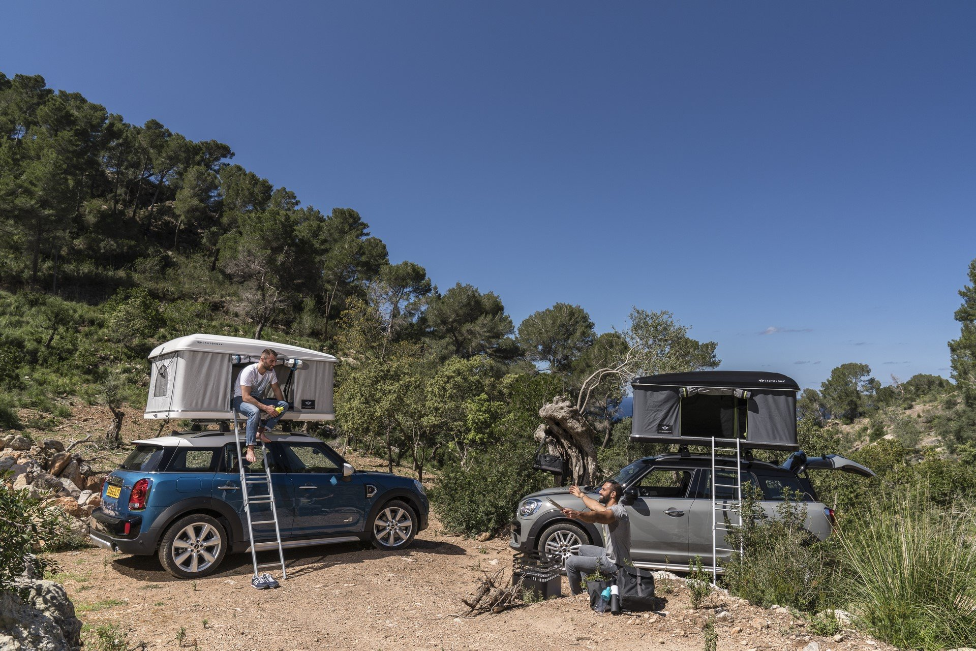Mini Countryman Roof Tent (10)