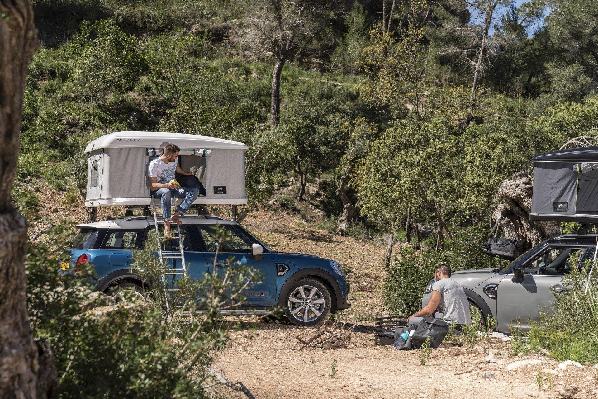 Mini Countryman Roof Tent (11)