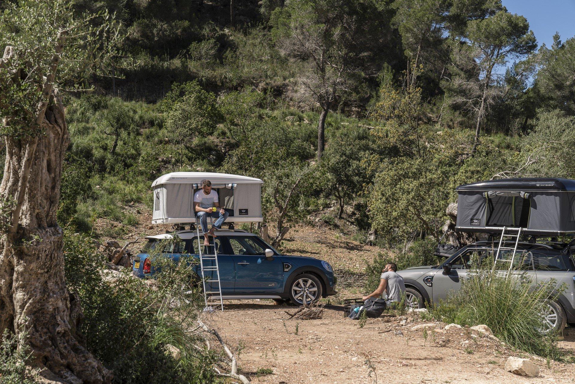 Mini Countryman Roof Tent (12)