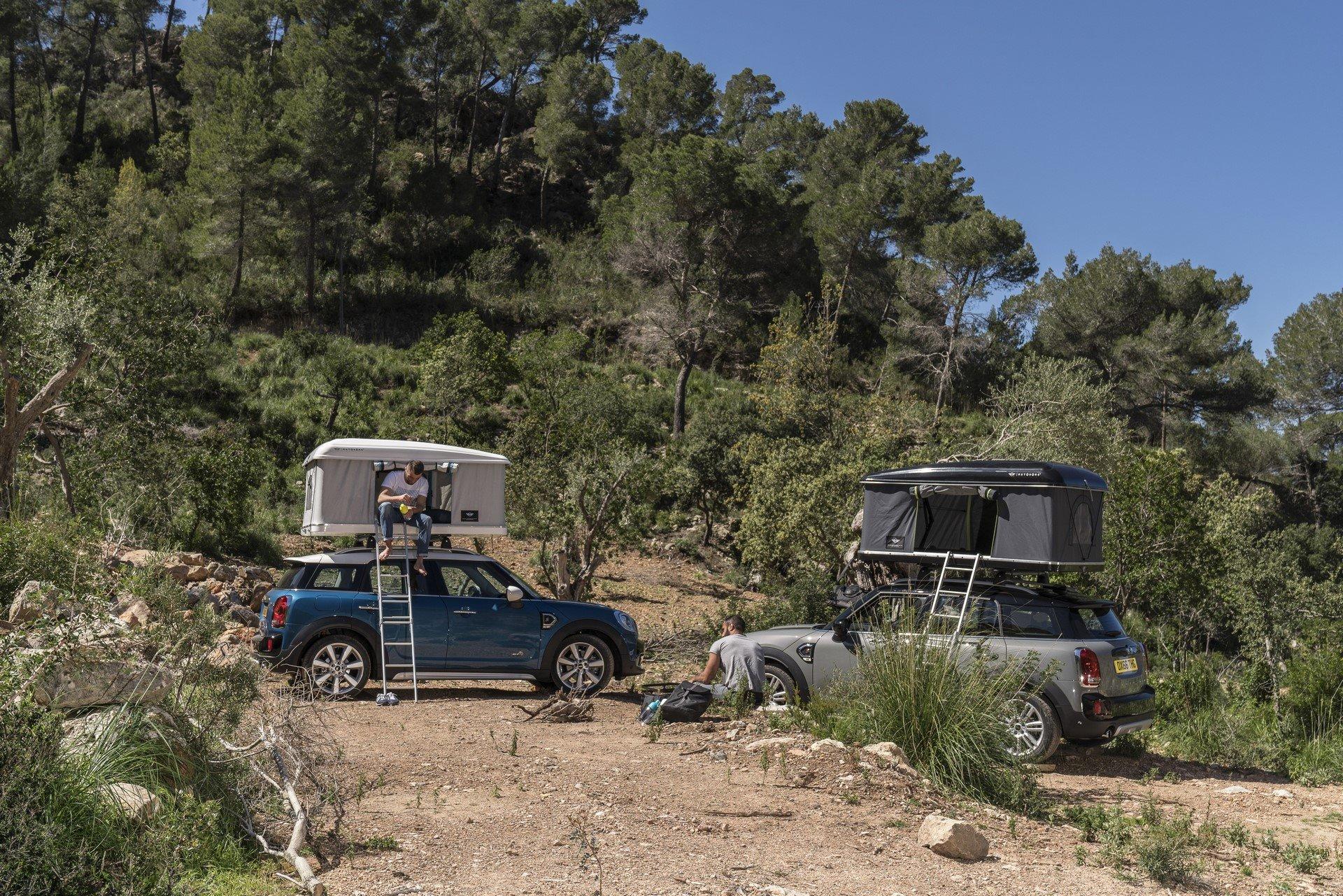 Mini Countryman Roof Tent (13)