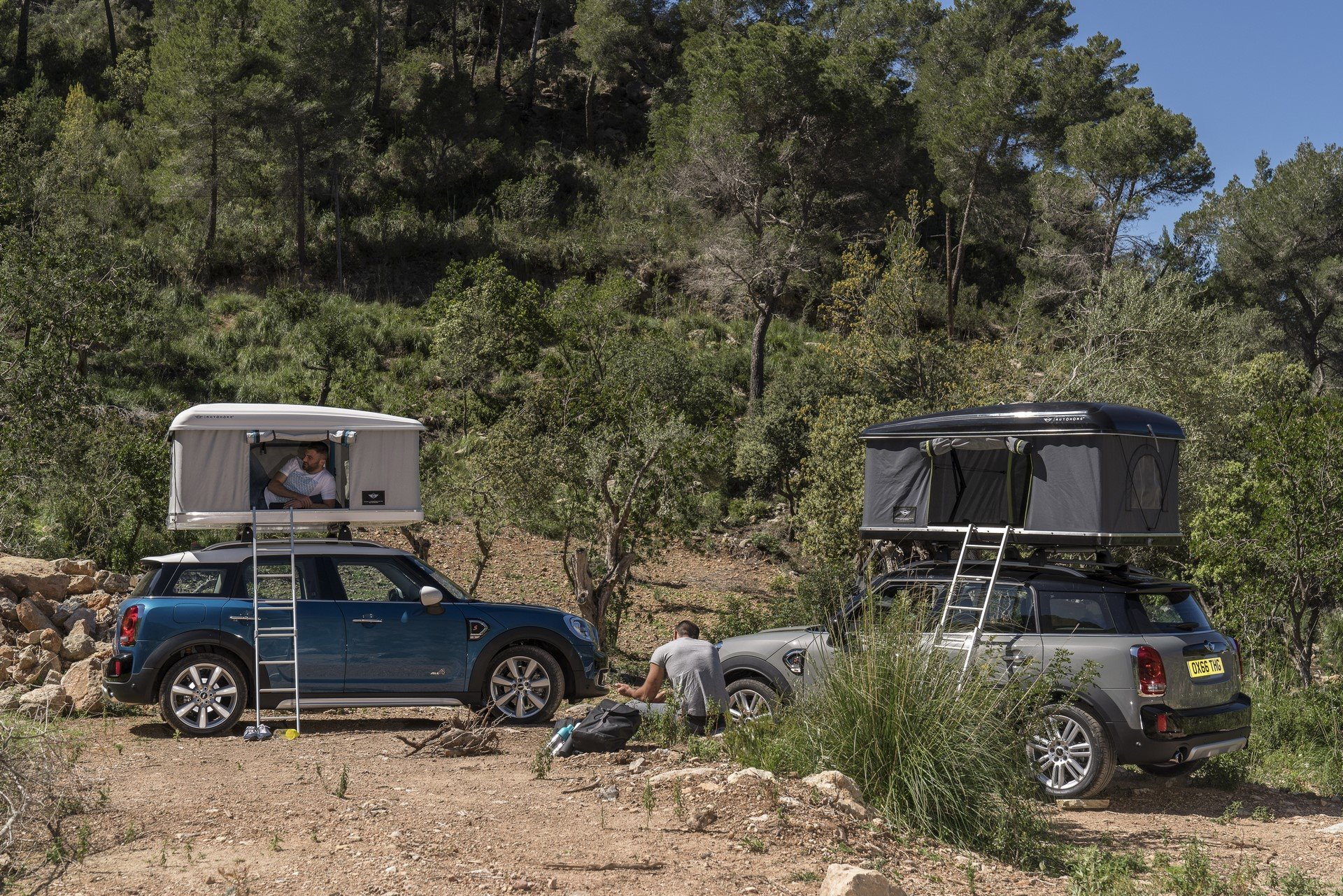 Mini Countryman Roof Tent (15)