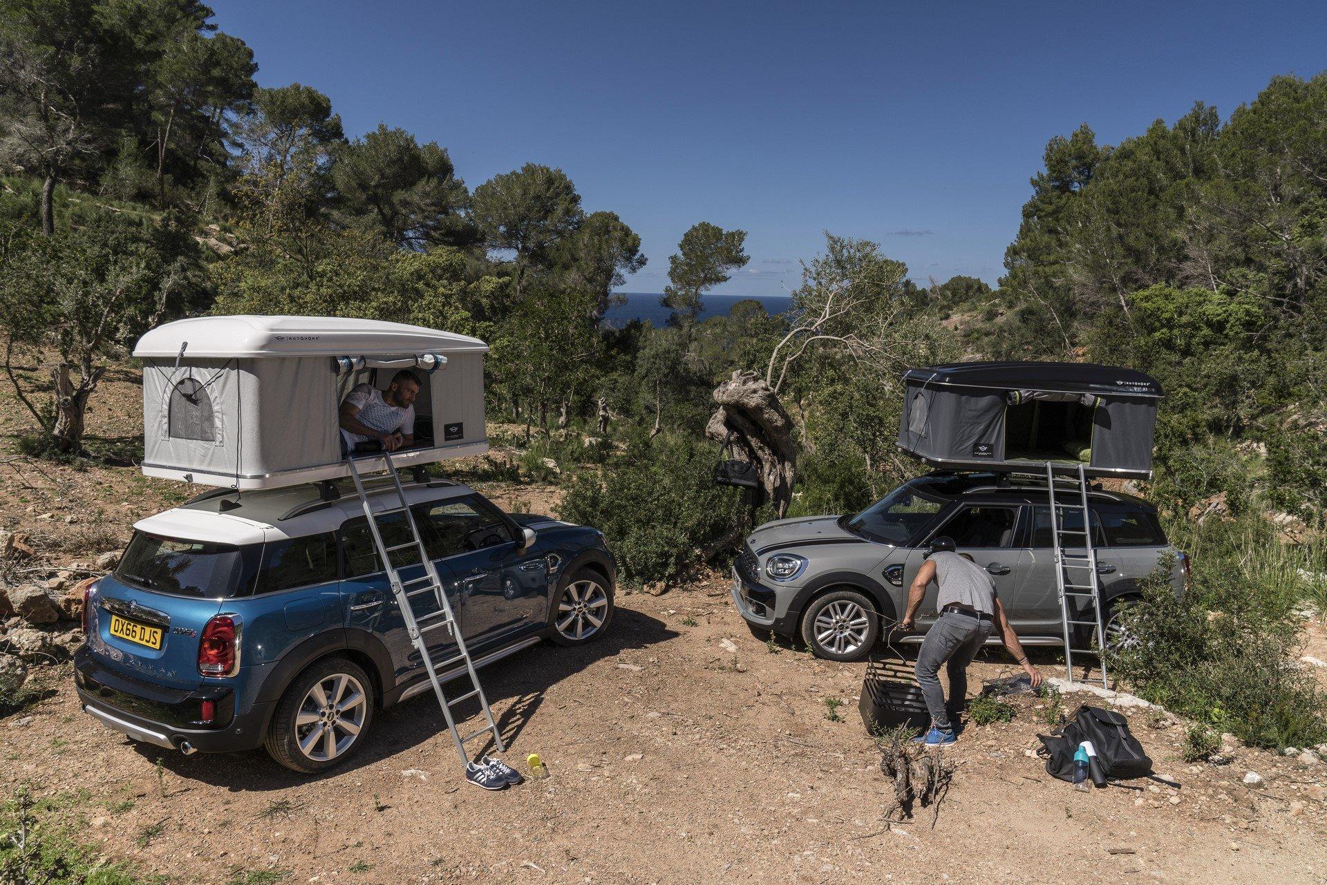 Mini Countryman Roof Tent (16)