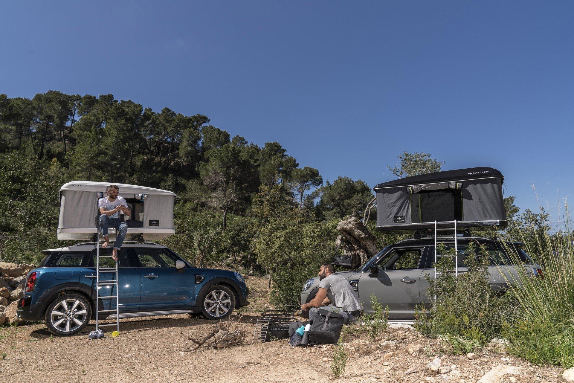 Mini Countryman Roof Tent (17)