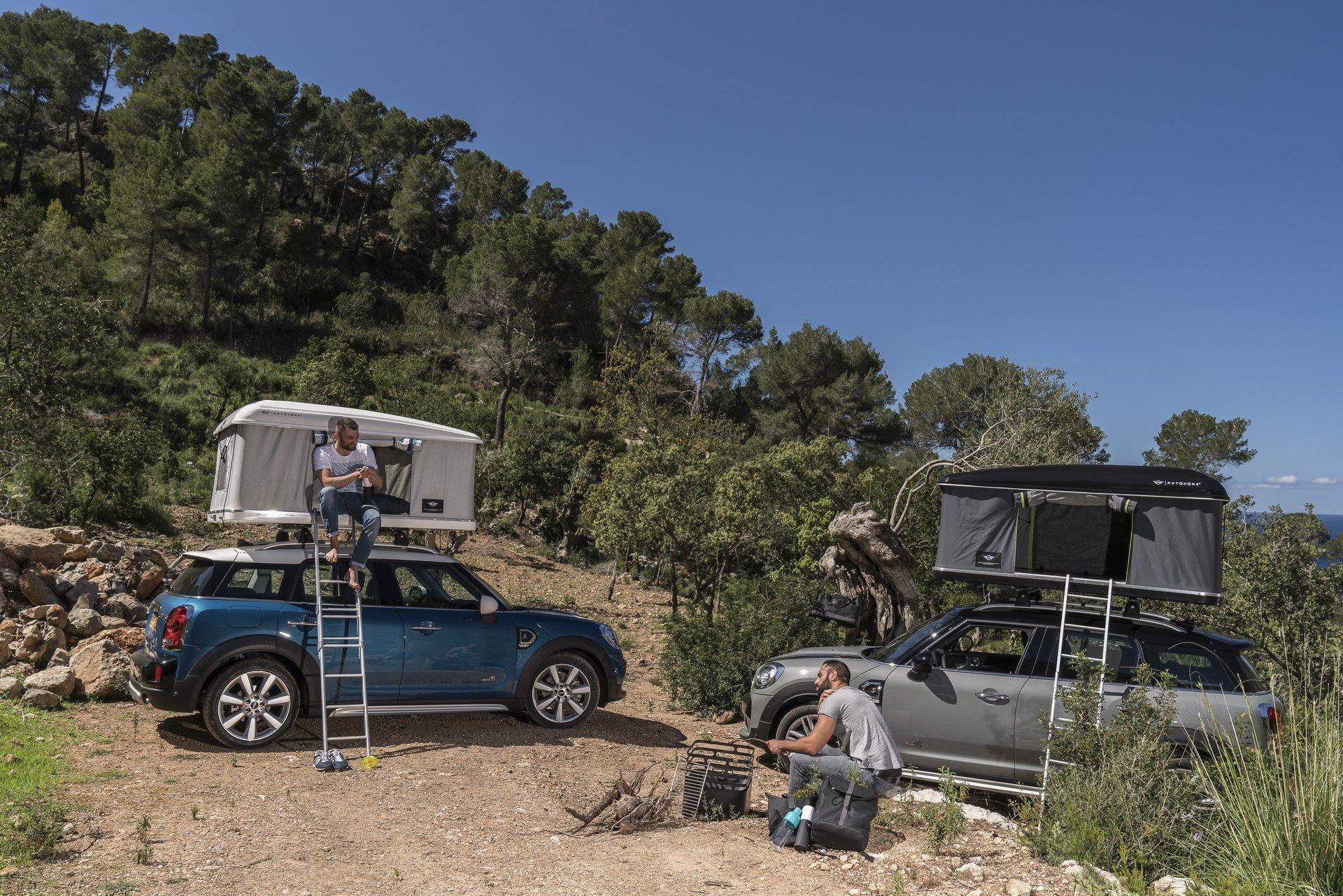 Mini Countryman Roof Tent (18)