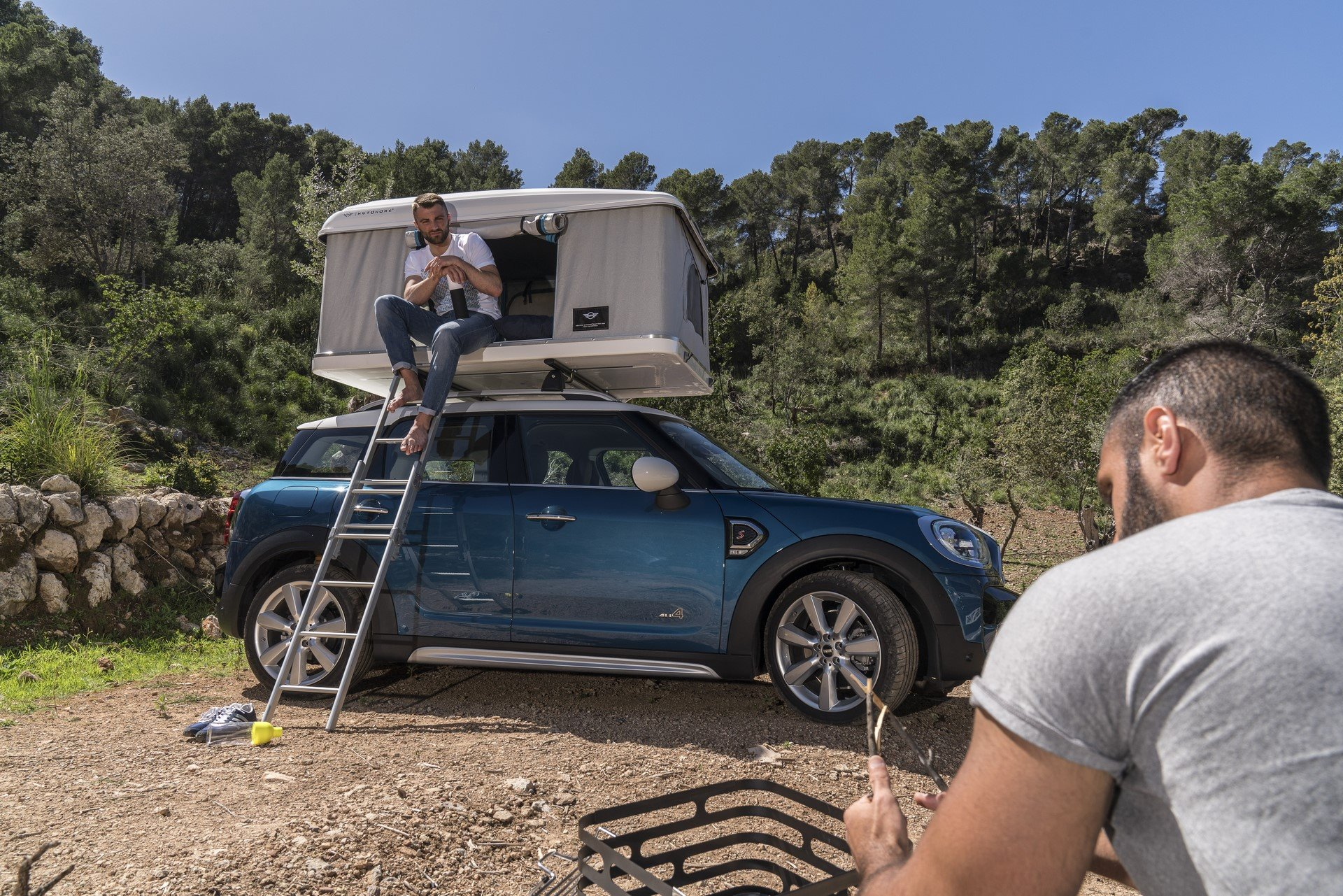 Mini Countryman Roof Tent (19)