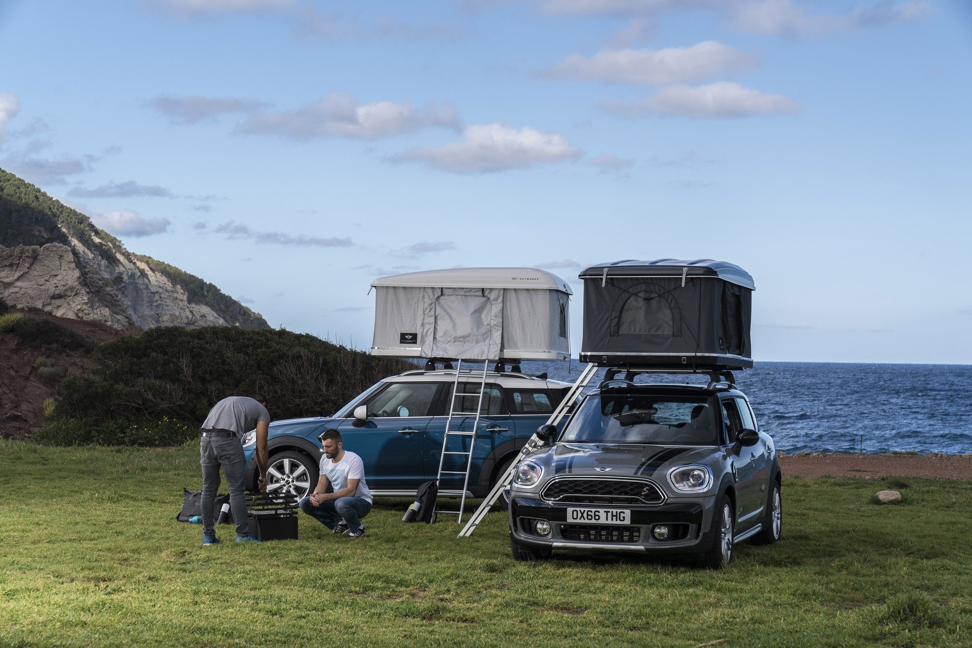 Mini Countryman Roof Tent (2)
