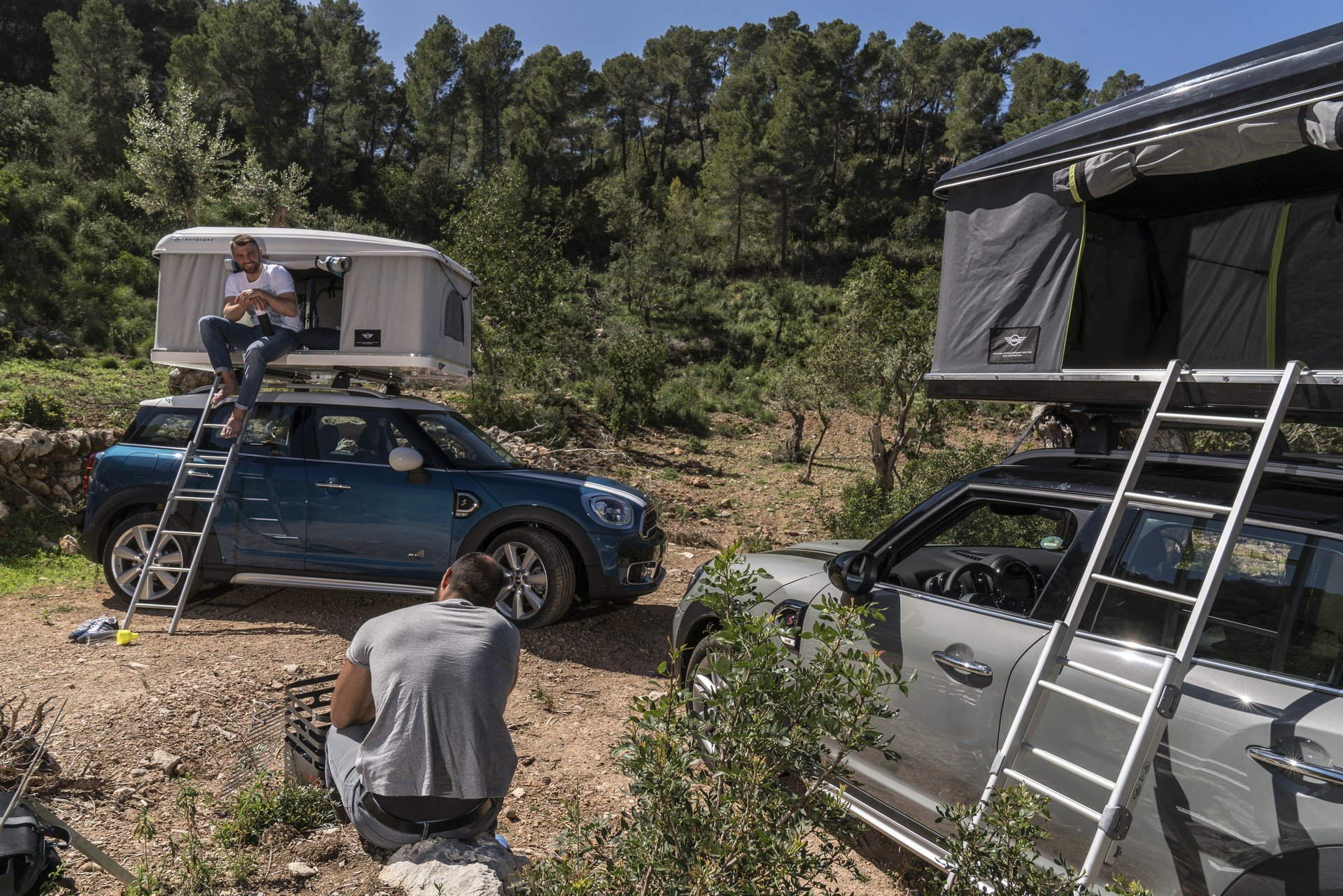 Mini Countryman Roof Tent (20)