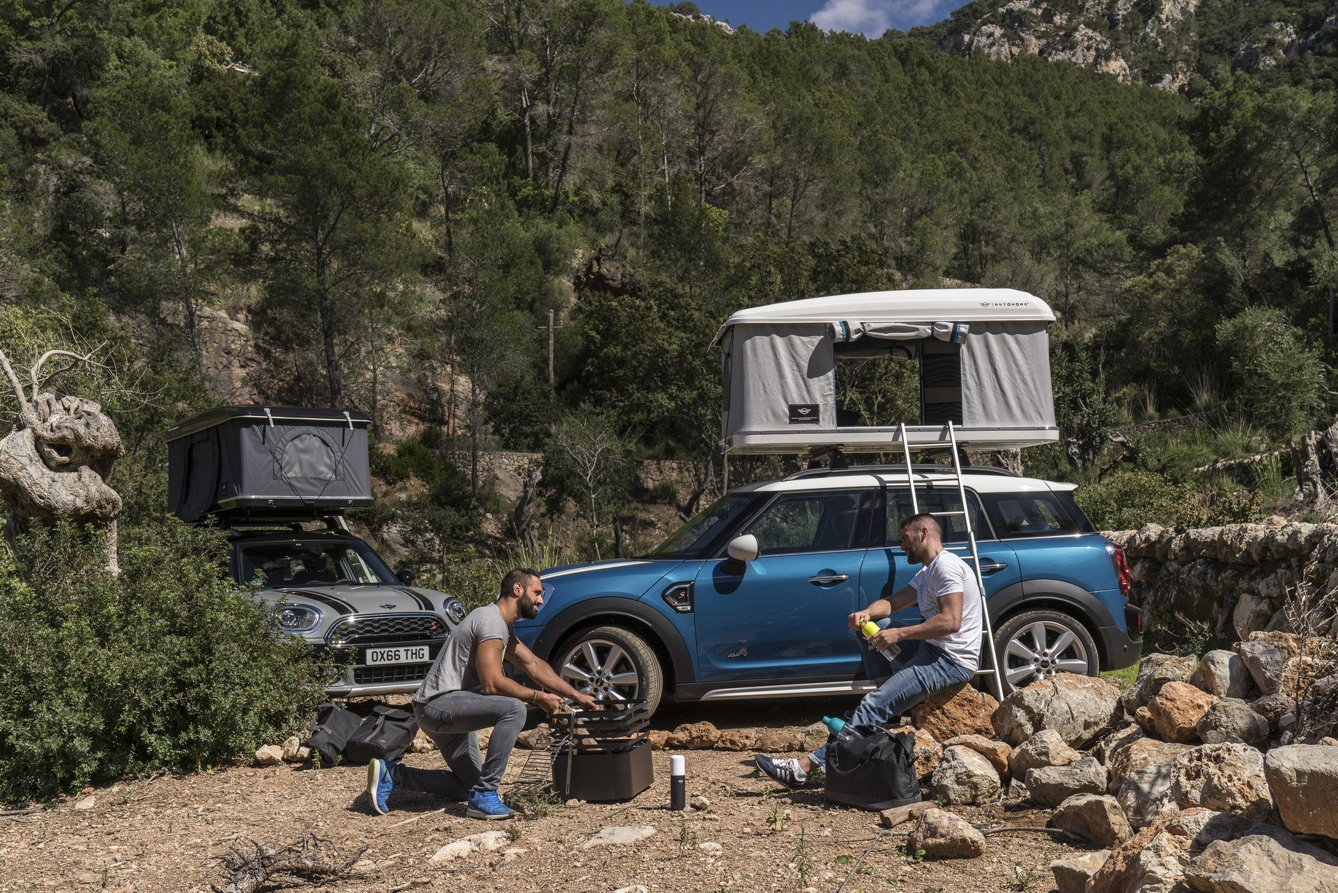Mini Countryman Roof Tent (22)