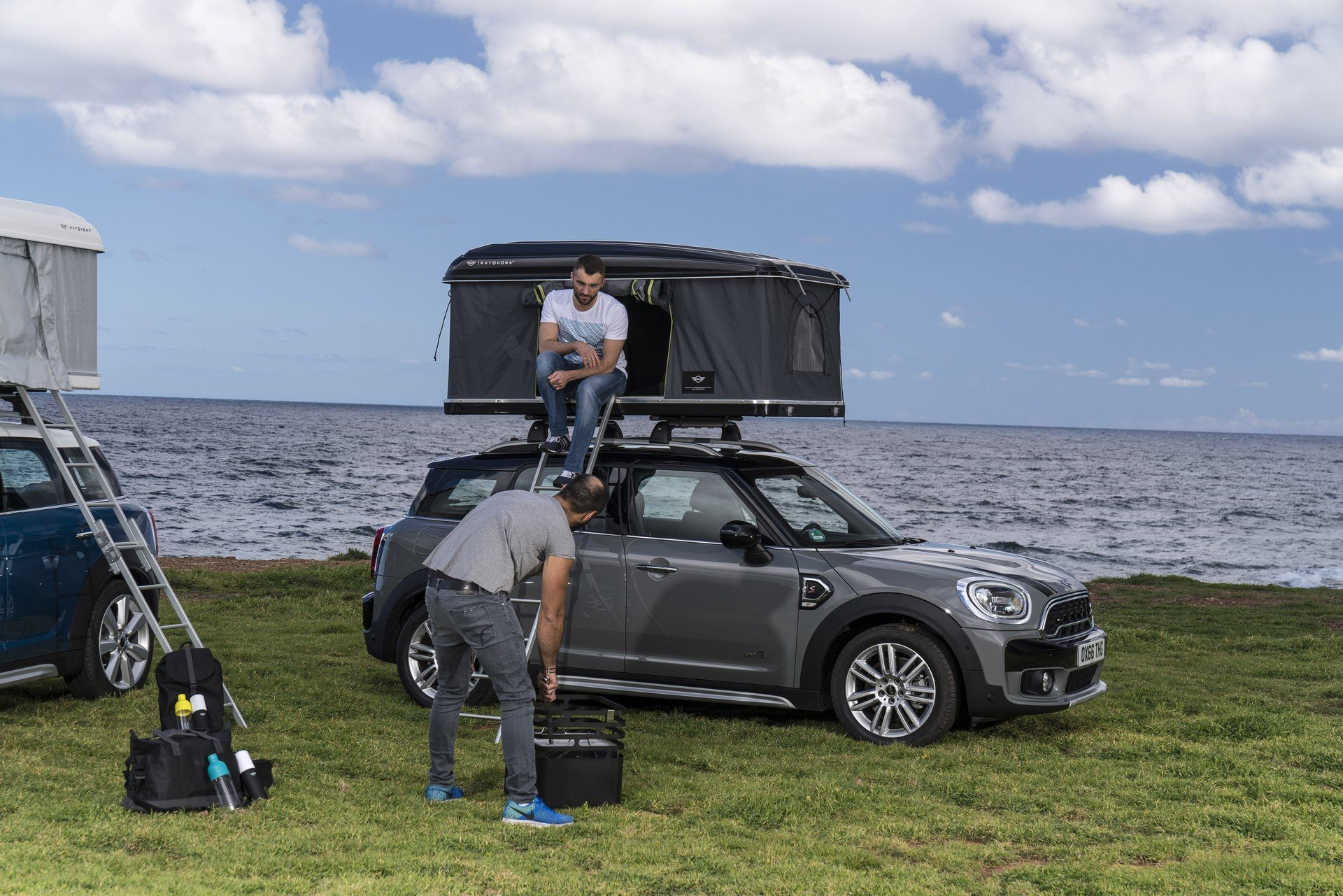 Mini Countryman Roof Tent (3)