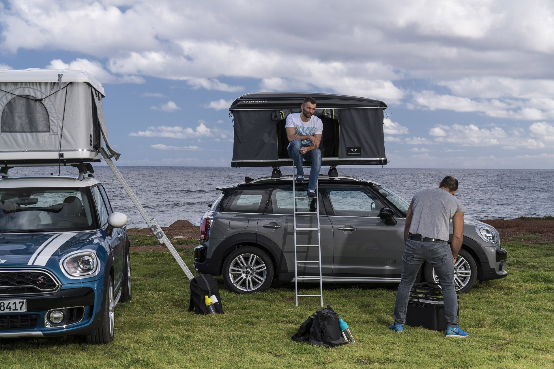 Mini Countryman Roof Tent (4)