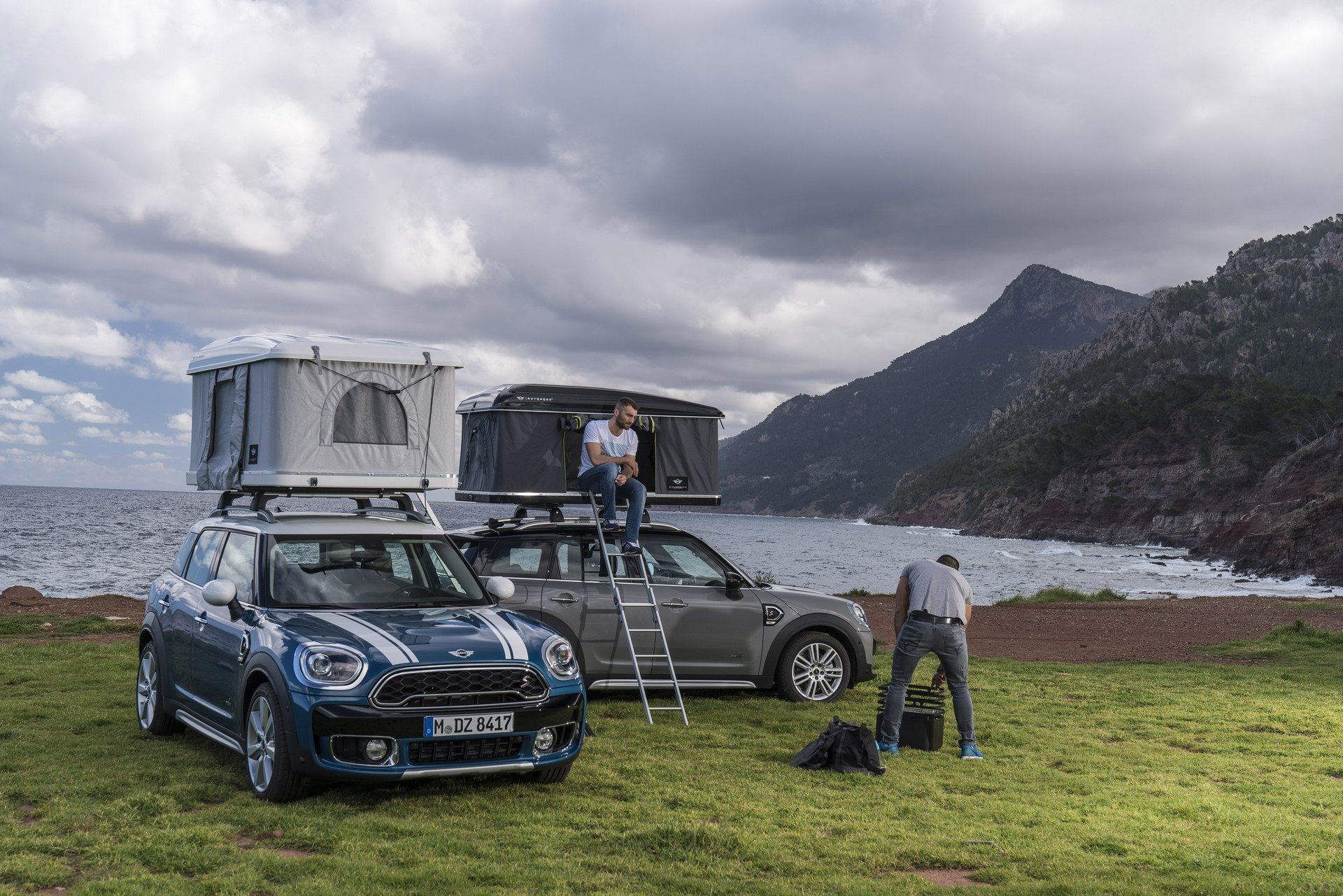 Mini Countryman Roof Tent (5)