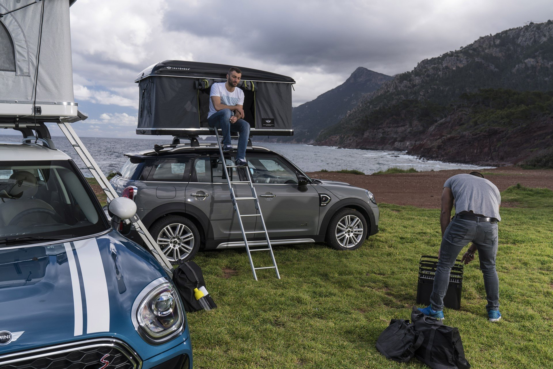 Mini Countryman Roof Tent (6)