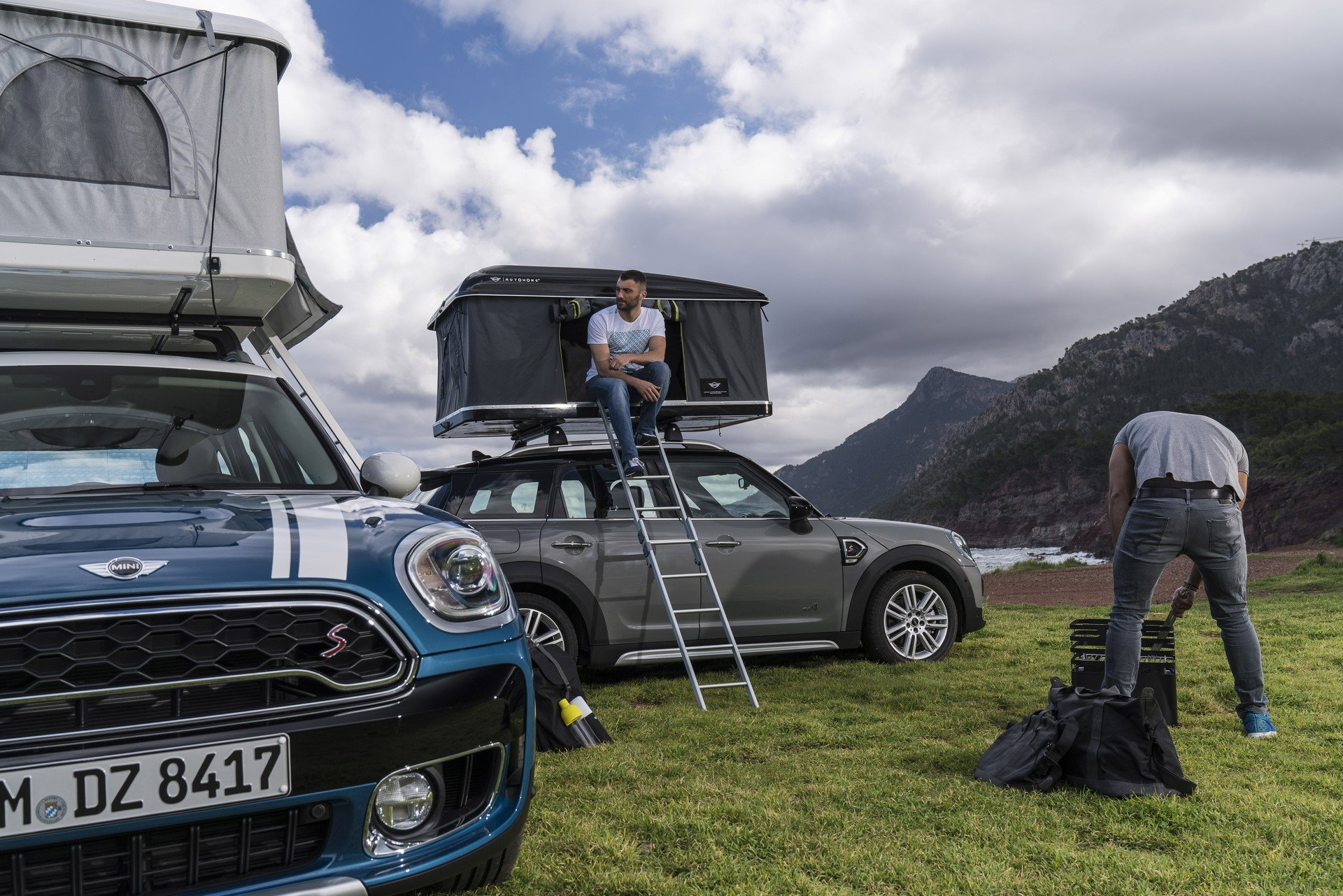 Mini Countryman Roof Tent (7)