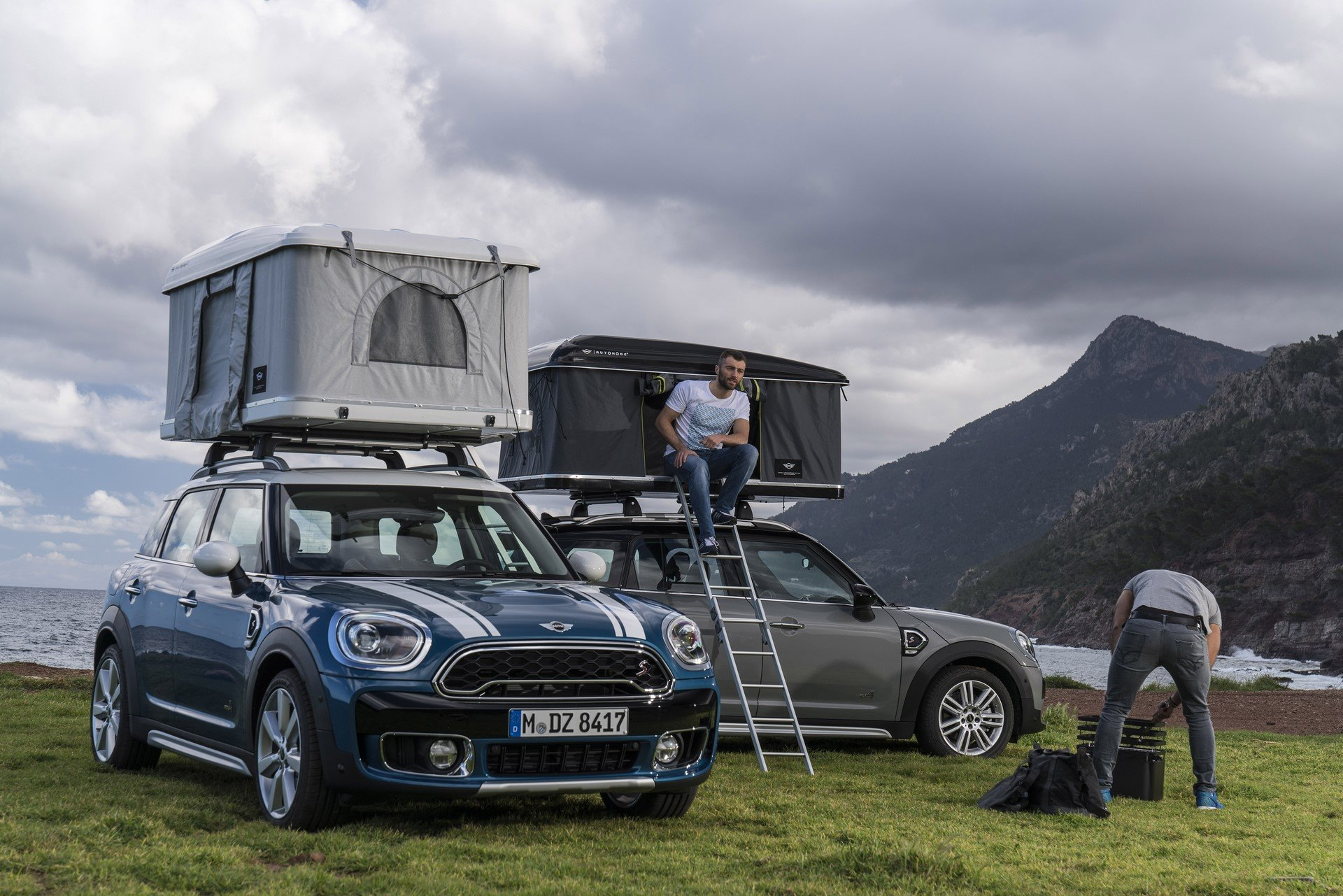 Mini Countryman Roof Tent (8)