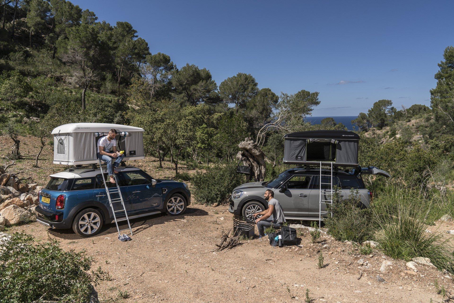 Mini Countryman Roof Tent (9)