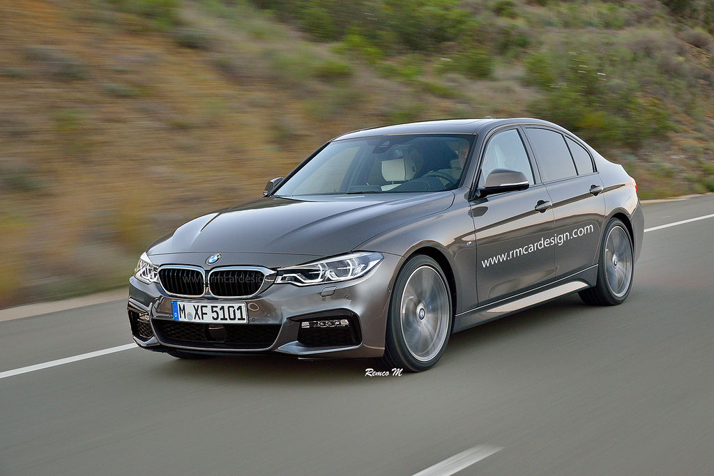BMW 3 series facelift (1)