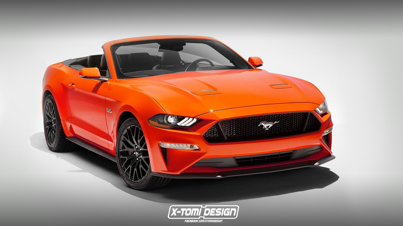 Ford Mustang GT Convertible2
