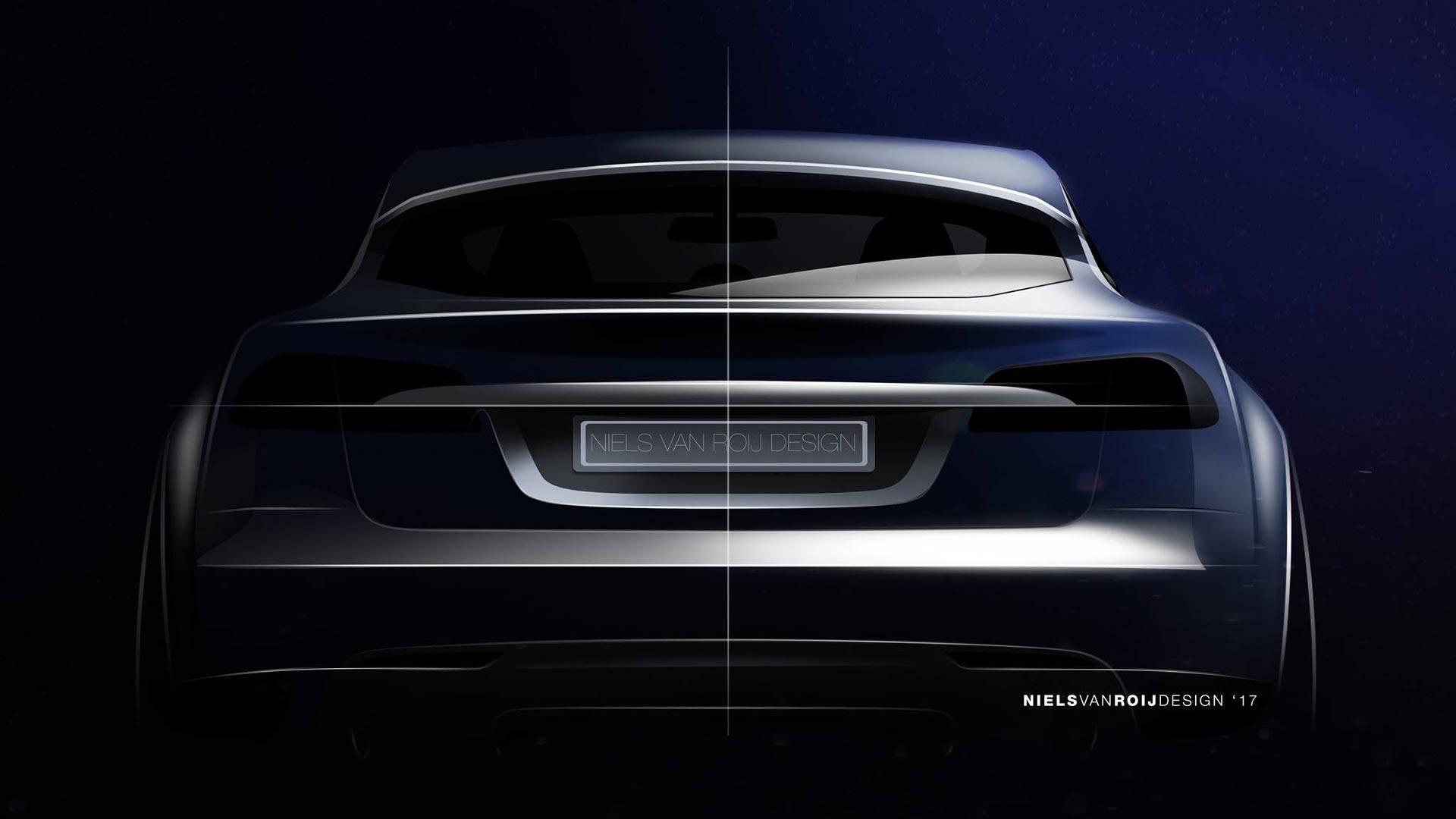Niels van Roij Design Tesla Model S Shooting Brake (2)