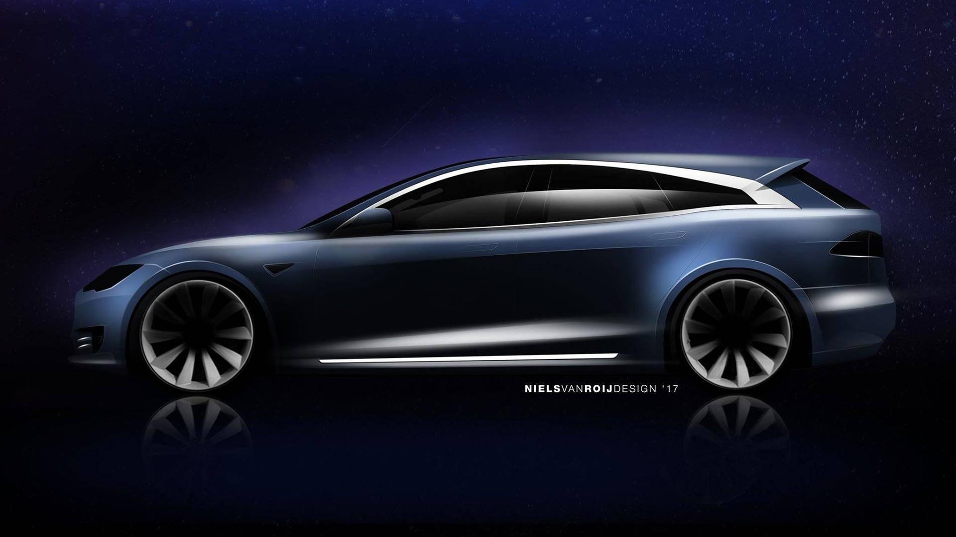 Niels van Roij Design Tesla Model S Shooting Brake (3)