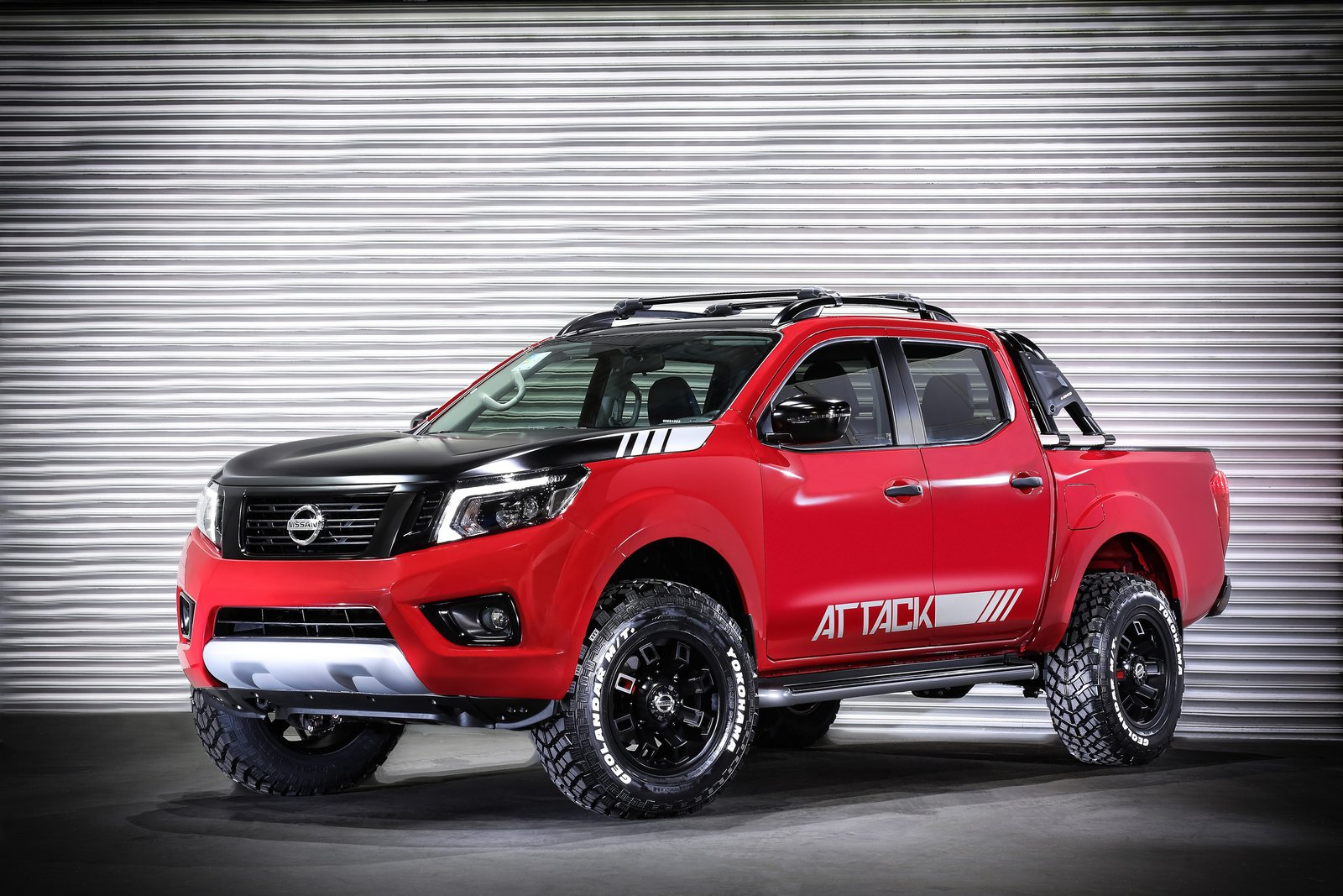"BUENOS AIRES, Argentina (June 9, 2017) – Nissan is set to impress at the 2017 Buenos Aires Auto Show by presenting the new Nissan Frontier Attack, a concept based on the iconic Frontier. It was inspired by extreme and imposing ""monster-trucks."" As was the case with the Kicks Concept in 2015 in Brazil, Nissan hopes to find out what Argentineans think about the Frontier Attack, setting the basis for a potential production version of the vehicle in the future."
