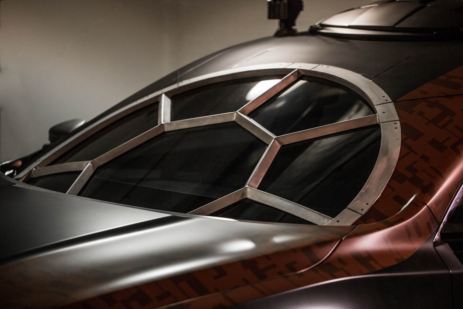 The Special Forces TIE Fighter is fittingly recreated using Nissan's best-selling sedan, Altima. The vehicle's stand out feature is the cockpit window that brings the multi-paned look of the Special Forces TIE fighter to the Altima's windshield.