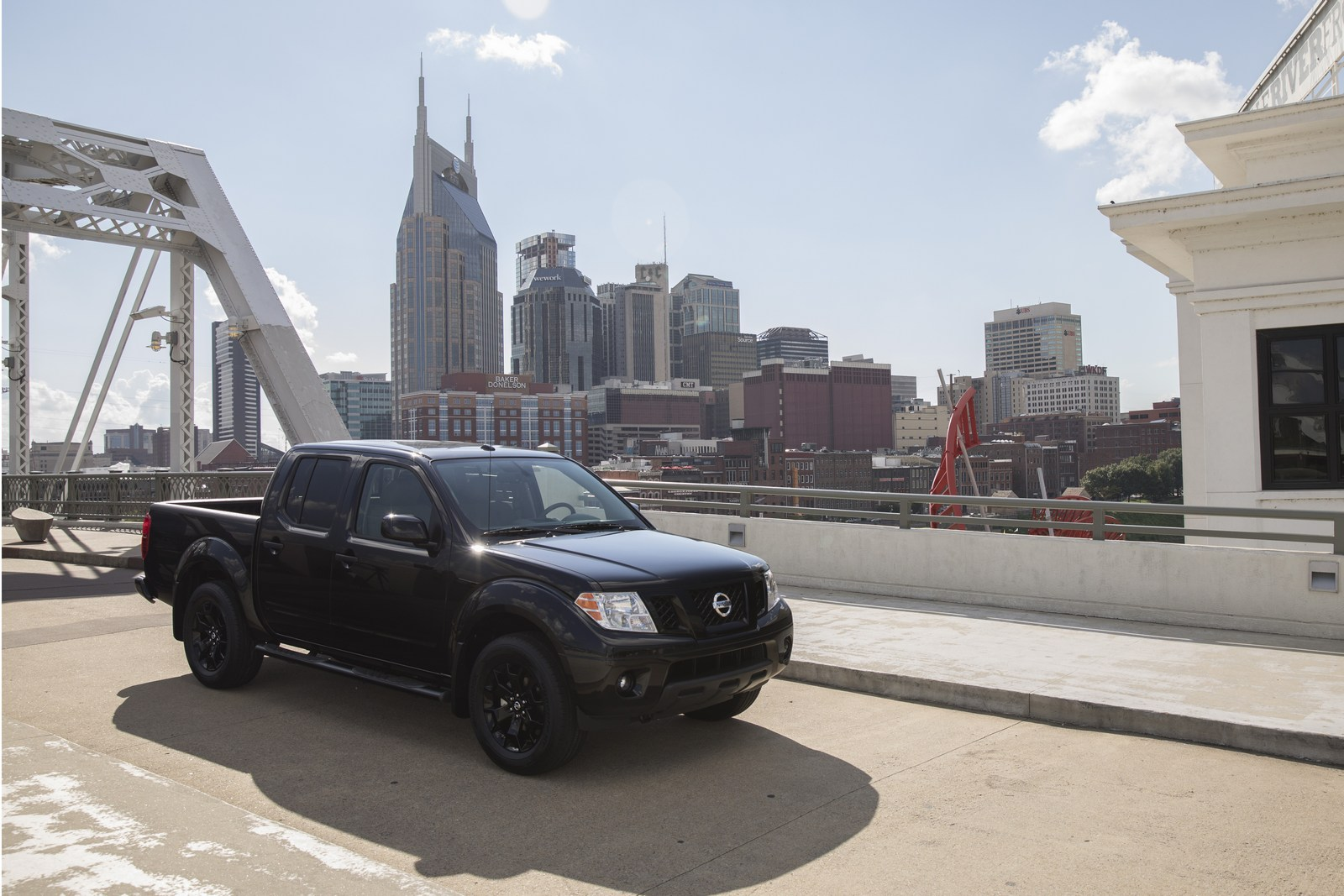 As the solar eclipse darkened the midday sky over Nissan's U.S. headquarters in Franklin, Tenn., the company rolled out three new additions to its popular and hot selling portfolio of custom Midnight Edition models: TITAN, TITAN XD and Frontier Midnight Editions. Nissan's Midnight Editions sell on average two times faster than standard models.