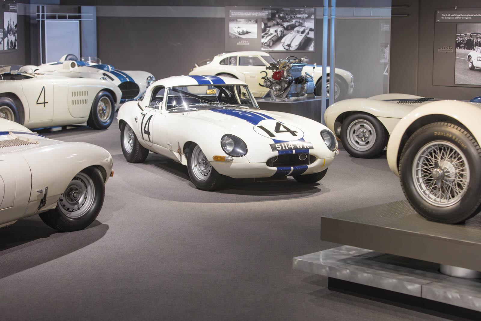 1963 Jaguar E-Type Lightweight #14 Cunningham 20 (1)