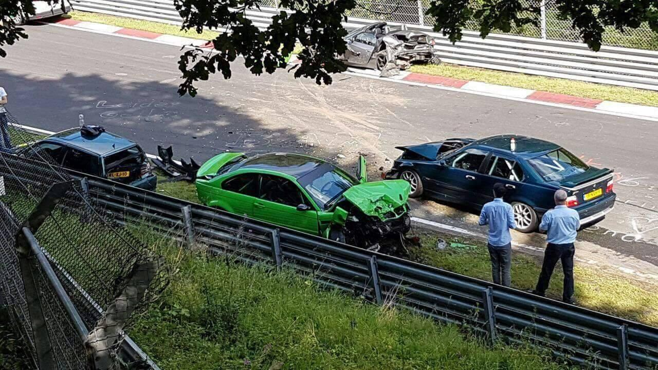 Nurburgring crash august 2017 (2)
