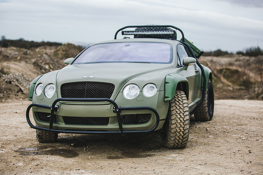 Off road Bentley Continental GT (1)