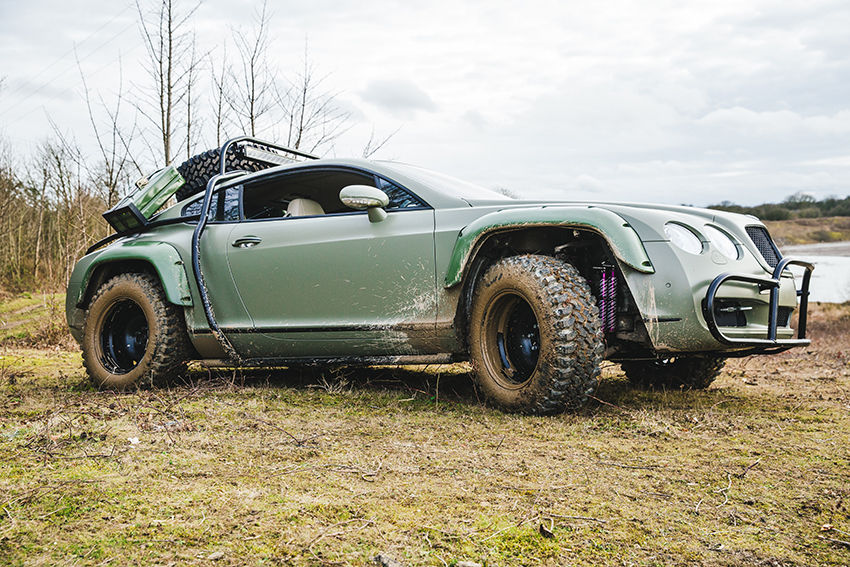 Off road Bentley Continental GT (4)