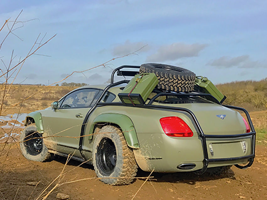 Off road Bentley Continental GT (5)