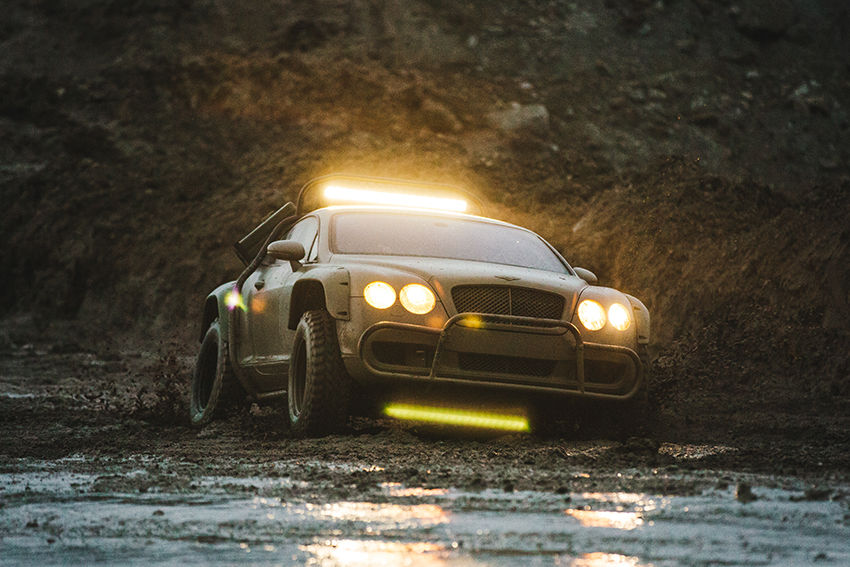 Off road Bentley Continental GT (6)