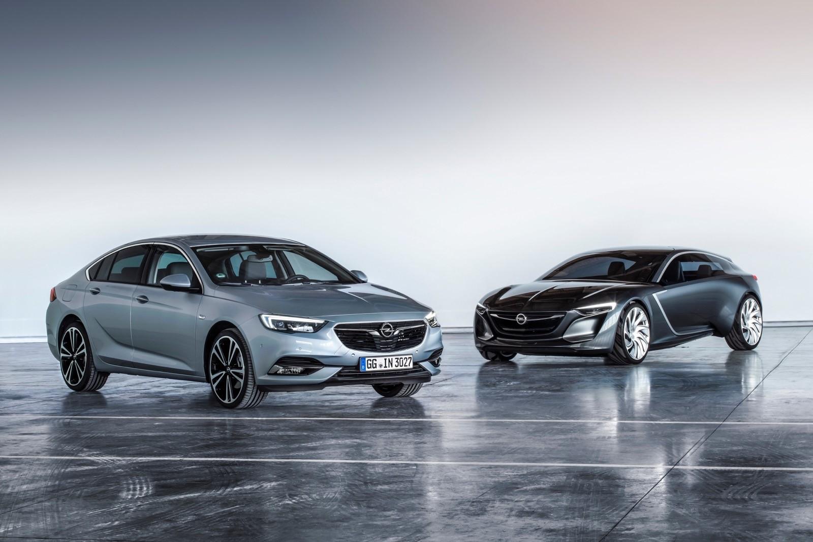 Opel Insignia Grand Sport & Opel Monza Concept